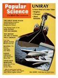 Front Cover of Popular Science Magazine: February 1, 1972 Psters