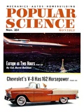 Front cover of Popular Science Magazine: November 1, 1950 Affiches