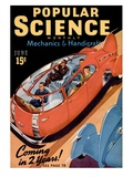 Front cover of Popular Science Magazine: June 1, 1940 Poster