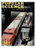 Front cover of Popular Science Magazine: October 1, 1946 Giclee Print