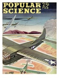Front cover of Popular Science Magazine: February 1, 1940 Print
