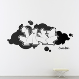 Jaye-Black Wall Decal