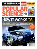 Front cover of Popular Science Magazine: April 1, 2008 Posters