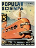 Front cover of Popular Science Magazine: April 1, 1930 Posters
