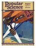 Front Cover of Popular Science Magazine: August 1, 1927 Print