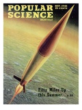 Front cover of Popular Science Magazine: May 1, 1946 Affiches