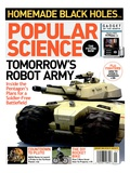 Front cover of Popular Science Magazine: January 1, 2006 Art