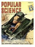 Front Cover of Popular Science Magazine: July 1, 1930 Prints