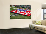Chiefs Raiders Football: Oakland, CA - The Oakland Colliseum Wall Mural by Jeff Chiu