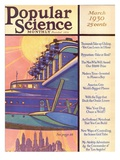 Front Cover of Popular Science Magazine: March 1, 1930 Posters
