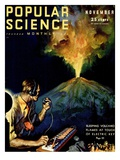 Front Cover of Popular Science Magazine: November 1, 1930 - Poster