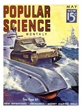 Front Cover of Popular Science Magazine: May 1, 1930 Poster