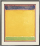 Untitled (Blue, Yellow, Green on Red), 1954 Art by Mark Rothko