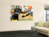 Browns Steelers Football: Pittsburgh, PA - Rashard Mendenhall Wall Mural by Tom E. Puskar