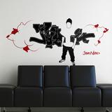 My Graffiti-Black Kalkomania ścienna