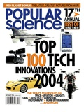 Front cover of Popular Science Magazine: December 1, 2004 Poster