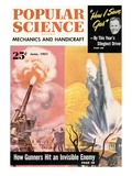 Front Cover of Popular Science Magazine: June 1, 1951 Print