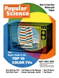 Front cover of Popular Science Magazine: February 1, 1968 Giclee Print