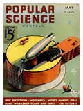 Front cover of Popular Science Magazine: May 1, 1930 Prints