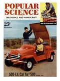 Front Cover of Popular Science Magazine: November 1, 1950 Posters