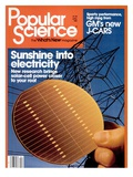 Front cover of Popular Science Magazine: April 1, 1981 Print