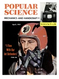 Front cover of Popular Science Magazine: April 1, 1951 Art