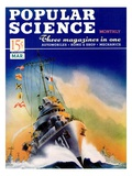 Front cover of Popular Science Magazine: March 1, 1940 Art