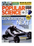 Front cover of Popular Science Magazine: September 1, 2008 Art