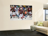 Titans Patriots Football: Foxborough, MA - Wes Welker Wall Mural by Winslow Townson