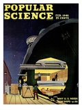 Front cover of Popular Science Magazine: February 1, 1946 Prints