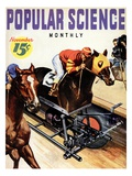 Front Cover of Popular Science Magazine: November 1, 1930 Giclee Print