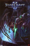 Star Craft 2 - Kerrigan vs Zeratul Poster