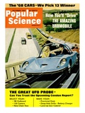 Front Cover of Popular Science Magazine: October 1, 1967 Prints