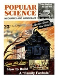 Front cover of Popular Science Magazine: March 1, 1951 Stampe