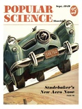 Front cover of Popular Science Magazine: September 1, 1949 Poster