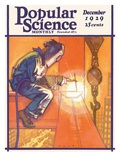 Front Cover of Popular Science Magazine: December 1, 1929 Affiche