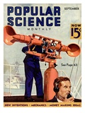 Front cover of Popular Science Magazine: September 1, 1930 Prints
