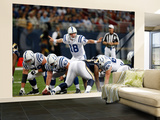 Colts Rams Football: St. Louis, MO - Peyton Manning Wall Mural – Large by Tom Gannam