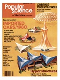 Front cover of Popular Science Magazine: February 1, 1980 Poster
