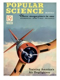 Front cover of Popular Science Magazine: June 1, 1940 Art