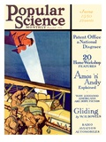 Front Cover of Popular Science Magazine: June 1, 1930 Prints