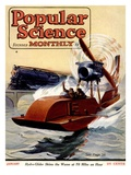 Front Cover of Popular Science Magazine: January 1, 1920 Poster