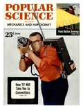 Front cover of Popular Science Magazine: June 1, 1950 Giclee Print