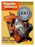 Front Cover of Popular Science Magazine: May 1, 1972 Prints