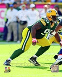B.J. Raji 2011 Action Photo