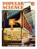 Front cover of Popular Science Magazine: March 1, 1949 Poster