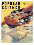 Front Cover of Popular Science Magazine: May 1, 1931 Posters