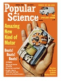 Front Cover of Popular Science Magazine: March 1, 1963 Pster