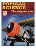 Front cover of Popular Science Magazine: January 1, 1940 Affiches