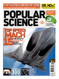 Front cover of Popular Science Magazine: January 1, 2008 Prints